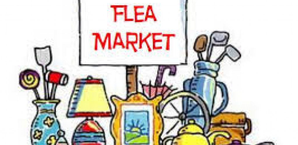 Flea Market, May 6, 8:00 am to 2:00 pm